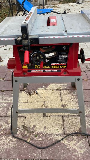 """10"""" bench table saw for Sale in Fort Worth, TX"""