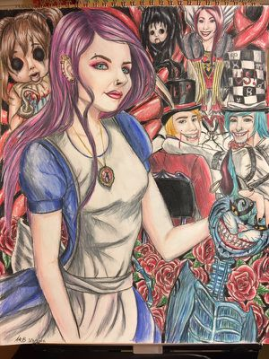 Alice madness returns art drawing for Sale in Centerville, GA
