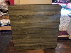 Wooden Square table for Sale in Buffalo, NY