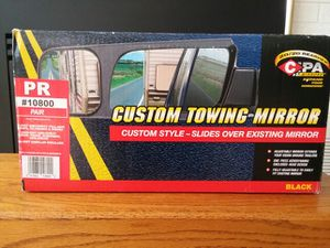 Trailer hauling mirror extensions for Sale in Lake City, MI