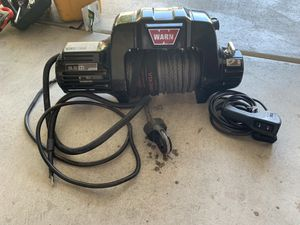 Warn 9.5 cti Winch with Viking Off-road Winchline for Sale in Las Vegas, NV