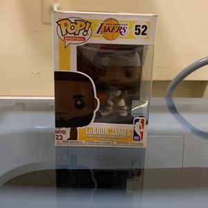 Pop! Action Figure #52 Lebron James for Sale in Covington, GA
