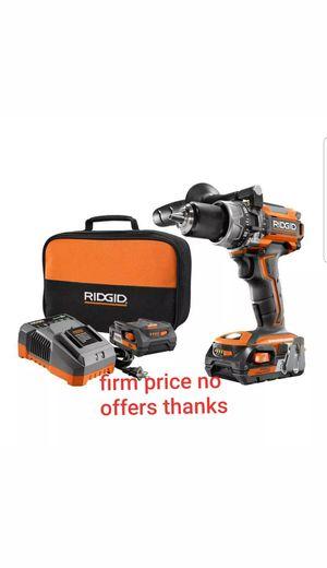 Ridgid R86116K Brushless 18v compact hammer drill/driver Kit for Sale in Upper Marlboro, MD