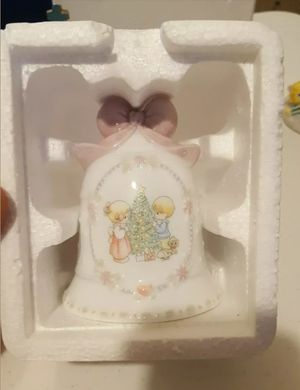 Vintage 1997 precious moments ceramic bell in box for Sale in Hanover, MD