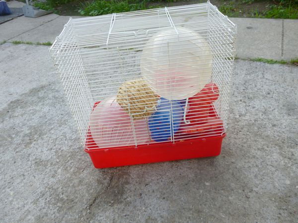 """Hamster Cage 15""""x10""""x15"""""""