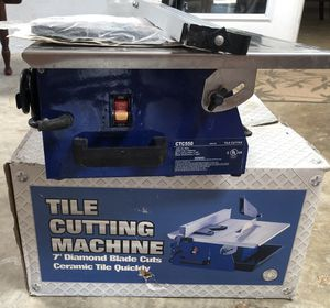 Ceramic Tile Cutter The Cutting Machine for Sale in Chula Vista, CA