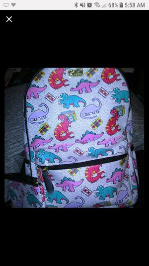 Betsey Johnson Rare Dinosaur & Boombox Backpack NWT. for Sale in Affton, MO