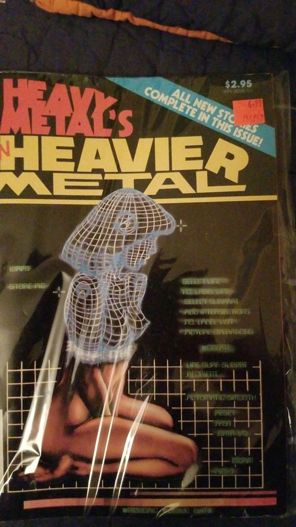 Heavy Metal magazine - Eaven Heavier Metal 1983 edition comics