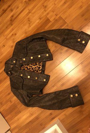 NEW ORIGINAL DOLCE & Gabbana leather jacket for Sale in Miami Beach, FL
