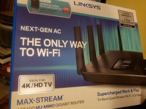 Verizon Fios Router Linksys AC5400 Tri-Band MU-MIMO for Sale in Saint Charles, MD