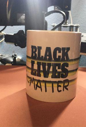 Black Lives Matter Mug Get a Free Mousepad for Sale in St. Cloud, FL