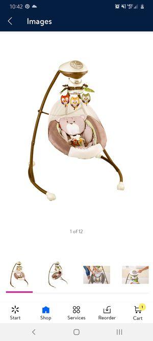 Fisher Price Snuga Bear Baby Swing for Sale in Las Vegas, NV