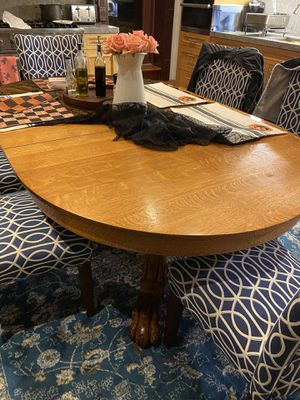 Solid Wood Kitchen Table for Sale in Brooklyn, NY