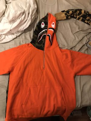 Bape half zip hoodie XL for Sale in Philadelphia, PA