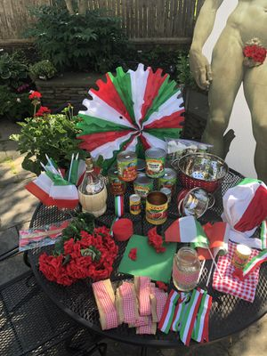Instant Italy/ Italian Theme Party! Just add food❤️ for Sale in Cambridge, MA
