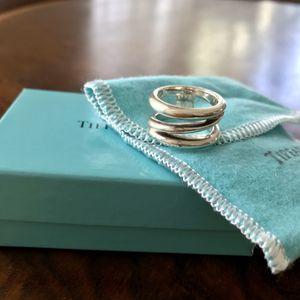 Tiffany Zig Zag Silver Ring for Sale in Washington, DC