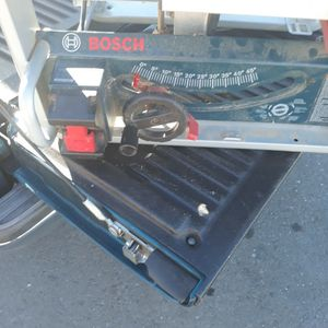 Bosch 10-inch Portable Table Saw for Sale in Hayward, CA