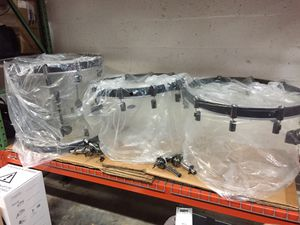 Drumcraft Acrylic Drums For Sale One Day Only for Sale in Dania Beach, FL