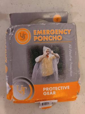 Poncho emergency protective gear for Sale in Saint Robert, MO