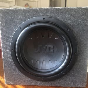 JVC 12 Inch Sub for Sale in Tulare, CA