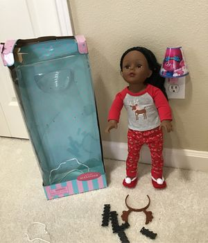 American Girl Doll 18in Retired Madame Alexander Brand New Perfect 4 Gift 💝 $50 FIRM for Sale in Happy Valley, OR