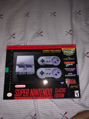 Super Nintendo classic edition for Sale in Duncanville, TX