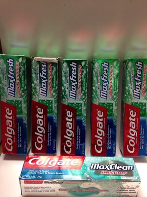 Colgate maxFresh (6 pc) ( 6 pz ) for Sale in Mesa, AZ