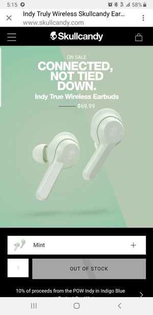 Skullcandy earbuds for Sale in Nashville, TN