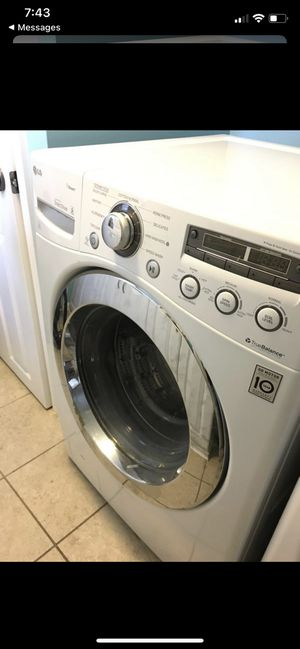 LG Energy Efficient Washer & Dryer Set for Sale in Tampa, FL