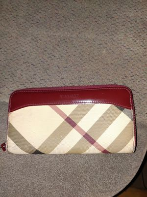 Burberry womens wallet for Sale in Bellflower, CA