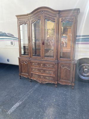 Vintage china cabinet for Sale in Long Beach, CA