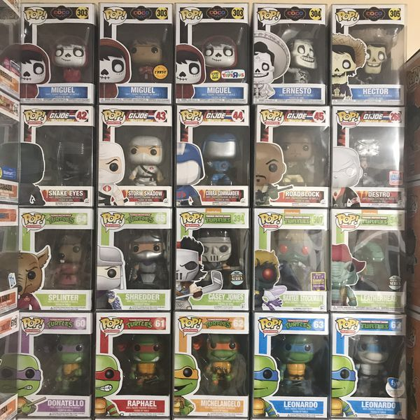 Various VAULTED Funko Pops SETS ONLY