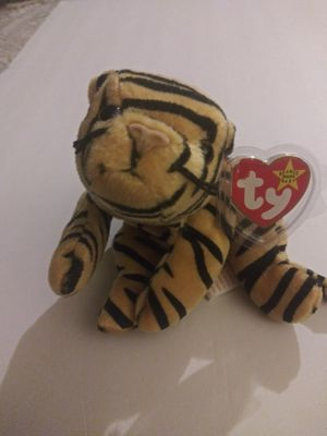 Beanie baby Stripes the tiger for Sale in Fremont, CA