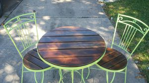 Beautiful Bistro Vintage Table n Chairs for Sale in Houston, TX