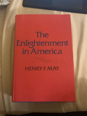 The Enlightenment in America by Henry F. May- Printed 1976 for Sale in Bellevue, WA