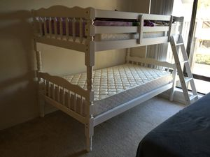 Bunk Bed Brand New w Mattresses ((Can Deliver) for Sale in San Diego, CA