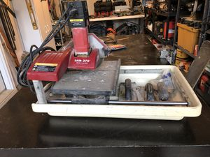 Wet tile saw for Sale in Delaware, OH