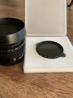 Zenmuse X5s 15mm Lens + Variable ND for Sale in Fairfax,  VA