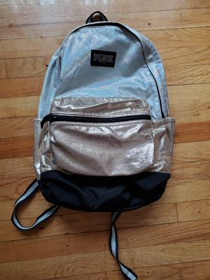 Victoria Secret Pink Metallic backpack for Sale in Chicago, IL