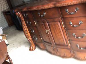 "Beautiful Clawfoot Dresser or Buffet Server 68"" w x49"" h x19"" d for Sale in Longwood, FL"