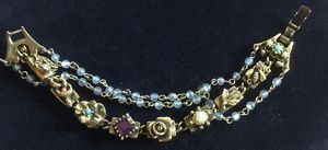 Victorian revival bracelet 6 1/2 inches long for Sale in Bothell, WA