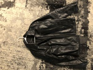 Guess men's leather jacket large for Sale in Boca Raton, FL
