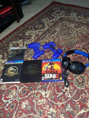 MK11 steel case edition Read dead redemption 2 turtle beach headset for Sale in Katy, TX