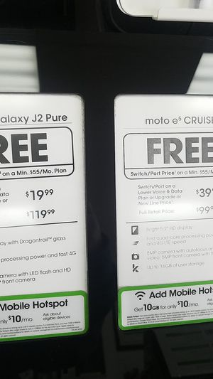 Free Samsung Galaxy J2 Pure, free Moto et Cruise for Sale in St. Louis, MO