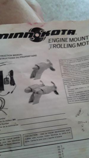 Engine mount trolling motor for Sale in Bella Vista, AR