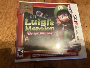 Nintendo 3ds Luigi mansion dark moon for Sale in Pompano Beach, FL