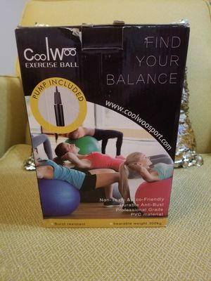 CoolWoo Exercise Ball for Sale in Rossville, GA