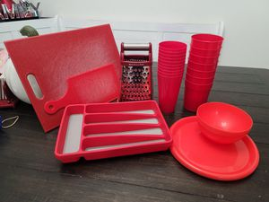 Red kitchen items for Sale in Mesa, AZ