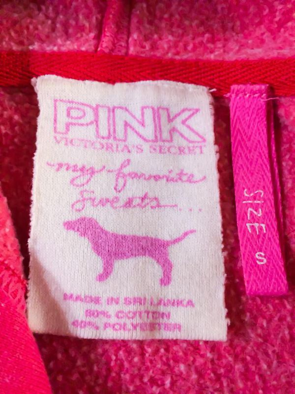 Victoria's Secret PINK HOODIE Jacket, Size Small