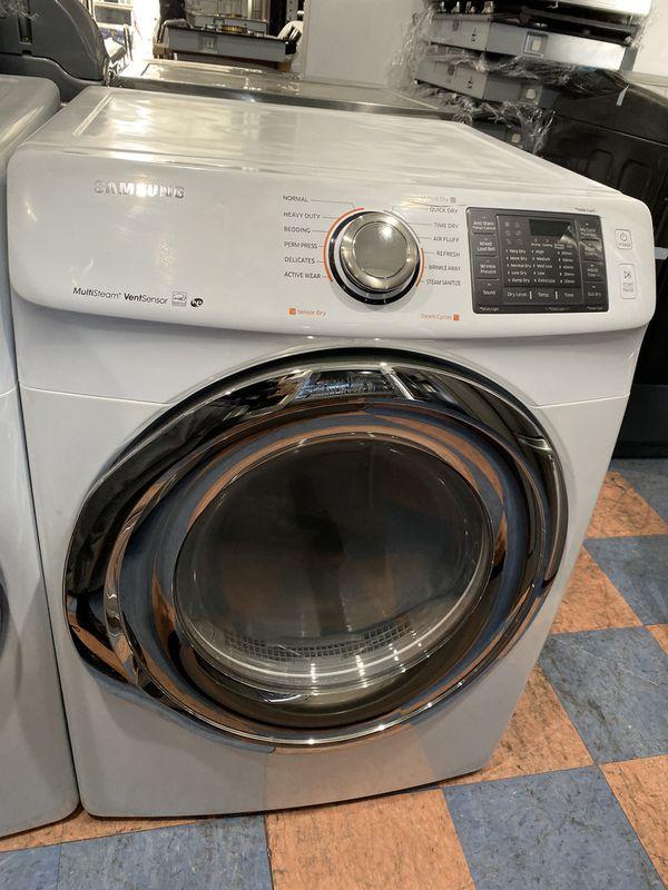 Samsung gas steam dryer 7.0 cf